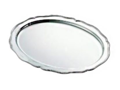 Oval tray Baroque collection